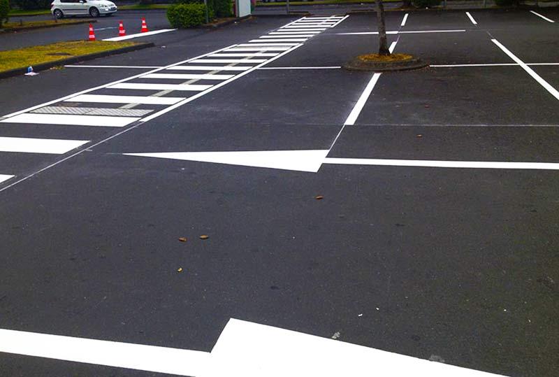 Marquage Flèches directionnelles à La Réunion | Markali